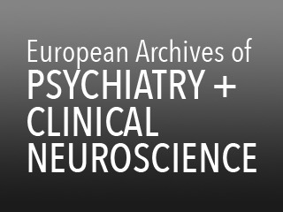 European-Archives-of-Psychiatry-and-Clinical-Neuroscience - 23
